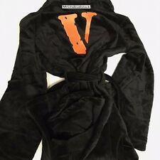VLONE x TUPAC Pop Up Black Bathrobe One Size SS17 A$AP MOB Fragment Robe