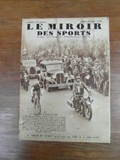 LE MIROIR DES SPORTS No 825 21 Mai 1935 : EDGAR DE CALUWE gagne BORDEAUX-PARIS