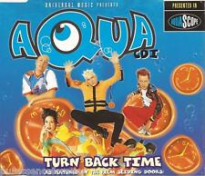 AQUA - Turn Back Time (UK 5 Track CD Single Part 1)