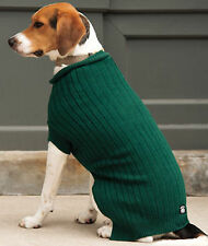 NEW Size XS Dark Green Barkers Basics Roll Neck Sweater Dog Clothes Petrageous