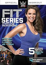 WWE FIT SERIES STEPHANIE MCMAHON 5 WORKOUTS EXERCISE DVD NEW SEALED