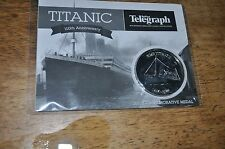 JOB LOT 7X TITANIC 2012 commerative medal Belfast 100th anniversary new sealed