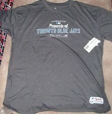 NEW MLB Toronto Blue Jays T Shirt Men 3XL XXXL Majestic NEW NWT