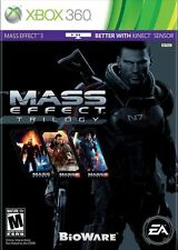 Mass Effect Trilogy Parts 1, 2, 3 (Xbox 360) BRAND NEW FREE SHIPPING