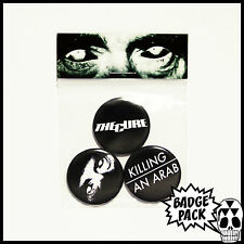 The Cure - Killing An Arab Button Badge Pack - 3 x 25mm Button Badges