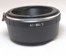 Nikon F AI Ai-s Lens to Micro 4/3 M4/3 Camera Mount Adapter GF3 GH4 5 Panasonic