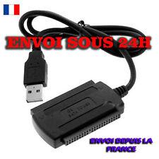 USB 2.0 à IDE SATA 2.5/3.5'' Disque Dur Drive HD HDD Convertisseur Adapter Câble