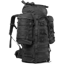 WISPORT 55L WILDCAT MILITARY HYDRATION RUCKSACK SECURITY POLICE BACKPACK BLACK