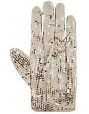 Roi de la pop billie jean sequin glove silver thriller michael jackson fancy dress
