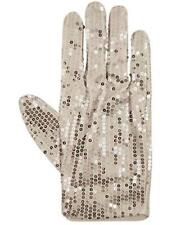 King Of Pop Billie Jean Sequin Glove Silver Thriller Michael Jackson Fancy Dress