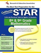 California STAR Grade 8th & 9th Mathematics (REA) - The Best Test Prep-ExLibrary