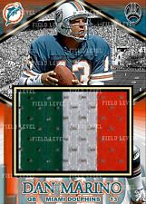 DAN MARINO MIAMI DOLPHINS CUSTOM HAND MADE JERSEY PATCH RELIC