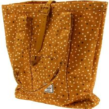 $60 Herschel Supply Co Market Tote Bag (yellow / mustard polka dot / mustard rub