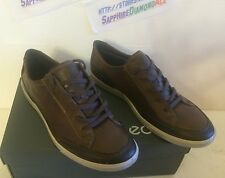 Ecco Men's COLLIN Lace Shoes Coffee/Cocoa  US 11-11.5 EU 45 53550455718 NEW!