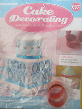 Deagostini Cake Decorating Magazine ISSUE 137 WITH 2 OVAL CUTTERS