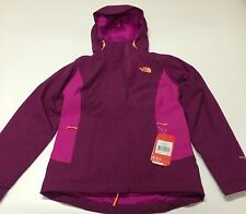 NWT Northface Womens Claremont Triclimate Jacket Dramatic plum/Luminous Size S