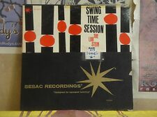 LOU STEIN SEXTET, SWING TIME SESSION - SESAC LP N-801