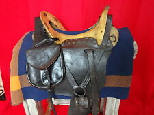 UNION CAVALRY CIVIL WAR MCCLELLAN SADDLE  BAGS CAV TROOPER ORIGINAL REGULATION