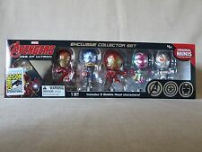 Marvel Avengers Age Of Ultron Mini Figure Box Set 2015 SDCC Comic Con Exclusive