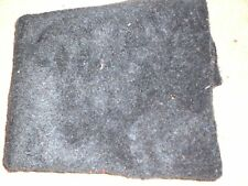 PLUSH FELT FABRIC 1/2 METRE PIECE NEW