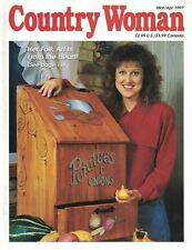 Country Woman Magazine Mar/Apr 1997 Folk Art, Easter, Quilting Recipes & More