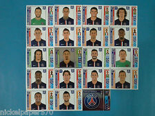 PANINI CHAMPIONS LEAGUE 2014 2015 - PARIS SAINT GERMAIN COMPLETO