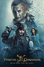 Pirates of the Caribbean Dead Men Tell No Tales Movie Poster (24x36) - Depp v5