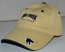 Bear Creek Golf Course Club Rancho Murieta CA Golfing High End Hat Cap Ashworth