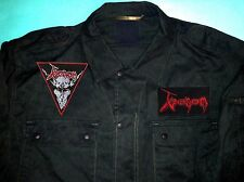 Venom Black Metal Legion Army Shirt Combat Welcome To Hell In League With Satan