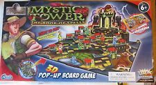 Mystic Tower and the Book of Spells 3-D Pop-Up Board Game Complete