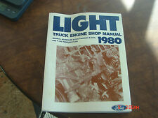 Ford 1980 Light Truck Shop Repair Manual Body Chassis Electrical