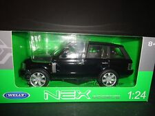 Welly Land Rover Range Rover 2003 Black 1/24