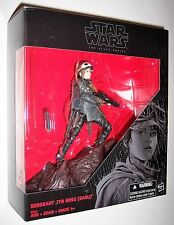 "Star Wars 6"" Black Series JYN ERSO EADU w/Base Kmart Exclusive In Hand Rogue One"