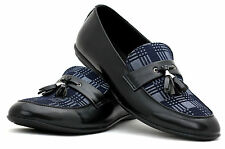 Mens Dress Slip On Tassel Loafers Fashion Smart Casual Office Shoes Size UK