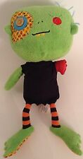 "Animal Adventure Plush ~ 13"" GREEN ONE ARMED MONSTER ZOMBIE Stuffed Animal"