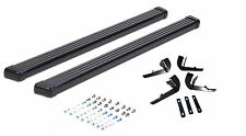 2008-2013 Jeep Liberty Hunter Black Running Boards Nerf Bars