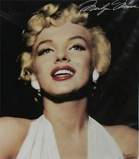 "MARILYN MONROE Hollywood Star Legend Portrait 79"" x 95"" QUEEN SIZE BLANKET New"