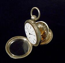 Elgin Pocket Watch Key Wind Key Set 18 size circa 1884 Running