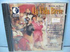 Manuel De Falla LA VIDA BREVE Simon Bolivar SO of Venezuela/Mata Dorian NEW