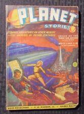 1940 PLANET STORIES Pulp Fiction Magazine v.1 #3 VG- Ray Cummings