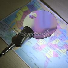 Lupa Ampliador Magnifier Loupe Magnifying Glass Lente 2.3x 4.0x& 2LED& Videoclip