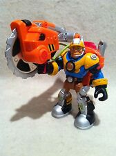 Rescue Heroes  Power Max Jack Hammer Construction Expert!