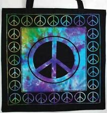 "Peace Sign Tote Bag  18"" x 18"""
