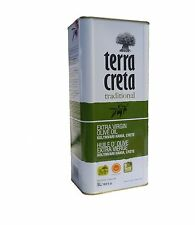 TerraKreta - Cold-pressed Extra virgin olive oil Crete 5 Litre