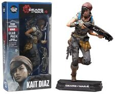 "Gears of War Kait Diaz Blue Colour Tops 7"" Figure McFarlane IN STOCK"