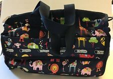 LESPORTSAC Baby Diaper Travel Bag Zoo Cute Brand New 3249 Handbag Messenger NWT
