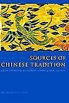 Introduction to Asian Civilizations: Sources of Chinese Tradition : From...
