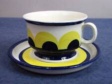 ARABIA FINLAND PAJU CUP/SAUCER VERY RARE ANJA JAATINEN-WINQVIST