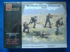 PEGASUS HOBBIES 7270 WWII RUSSIAN NAVAL INFANTRY 1:72 SCALE - SEALED BOX