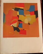 Roland BIERGE - Lithographie signée numérotée Nouvelle École de Paris